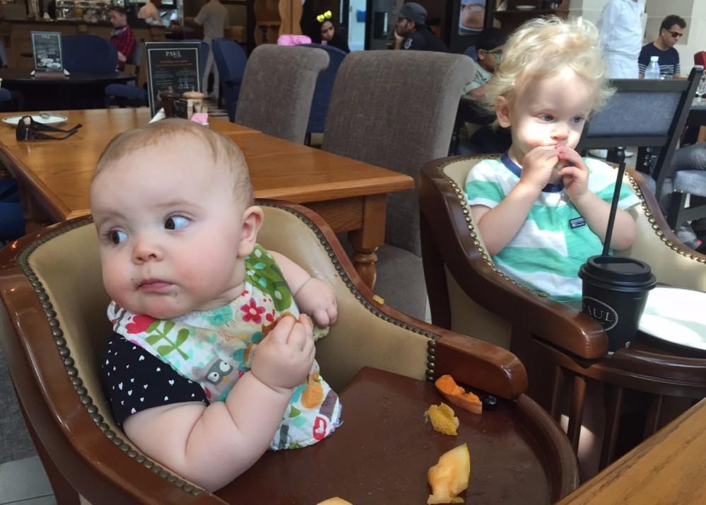 Highchair babies