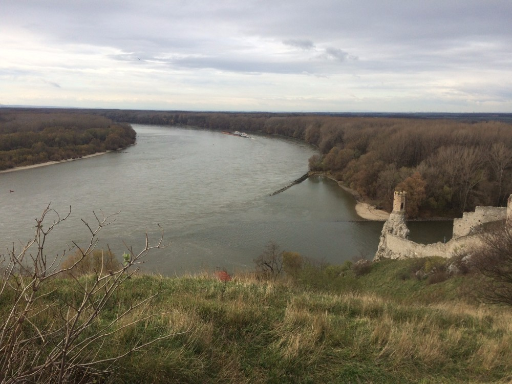 View of the River - Devin Castle