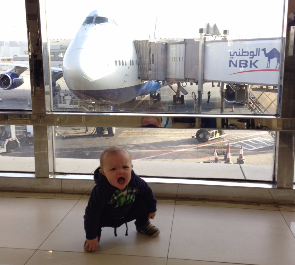 Avery and the airplane.JPG